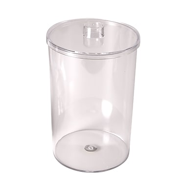 MABIS® Plastic Stor-A-Lot™ Sundry Jars without Imprints, Clear
