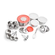 For The Chef 26 Piece Stainless Steel Kitchen Bowl Set