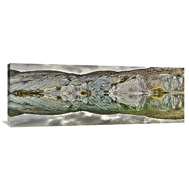 East Urban Home 'Reflection on Blue Lake, St Bathans, Central Otago, New Zealand' Photographic Print