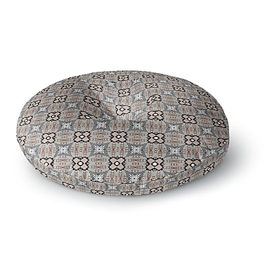 East Urban Home Vasare Nar 'African Nomad' Round Floor Pillow; 26'' x 26''