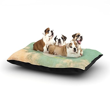East Urban Home 'Serenity' Dog Pillow w/ Fleece Cozy Top; Small (40'' W x 30'' D x 8'' H)