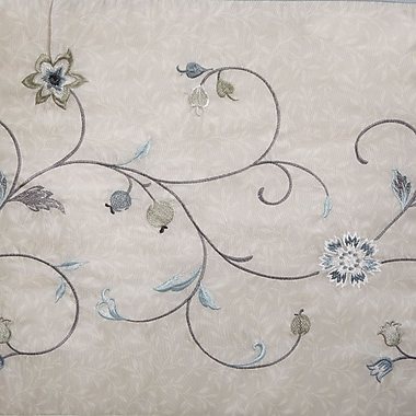 Alcott Hill Daugherty Embroidered Shower Curtain