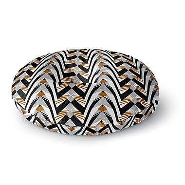 East Urban Home Vikki Salmela 'Wings' Round Floor Pillow; 26'' x 26''
