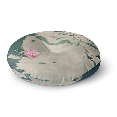 East Urban Home Sylvia Coomes 'Venetian Rose' Round Floor Pillow; 23'' x 23''