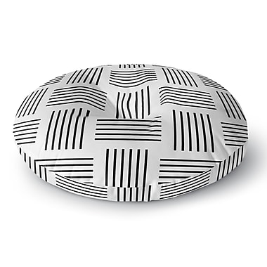 East Urban Home Trebam 'Postrance' Digital Round Floor Pillow; 23'' x 23''