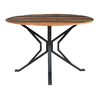 Gracie Oaks Minerva Round Dining Table