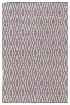 Brayden Studio Hallock Hand-Loomed Ivory Area Rug; 5' x 8'