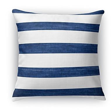 Breakwater Bay Madyson Burlap Indoor/Outdoor Throw Pillow; 20'' H x 20'' W x 5'' D