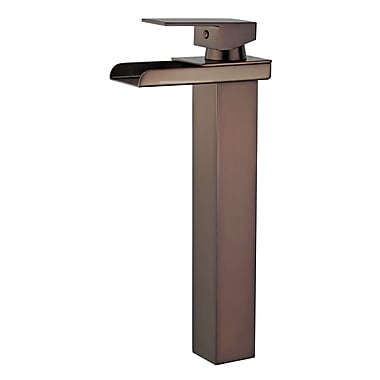 Bellaterra Home Oviedo Single Handle Bathroom Faucet w/ Drain Assembly; Oil Rubbed Bronze