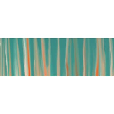 East Urban Home 'Deco Boardwalk' Painting Print on Wrapped Canvas; 16'' H x 48'' W x 0.75'' D