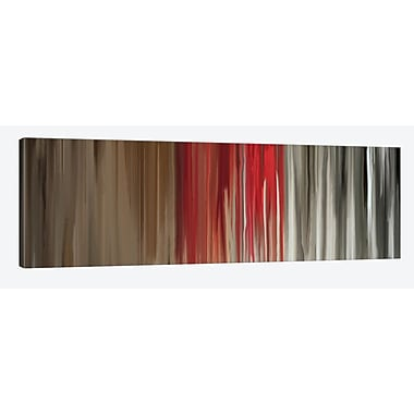 East Urban Home 'Article on Truth' Painting Print on Wrapped Canvas; 16'' H x 48'' W x 0.75'' D