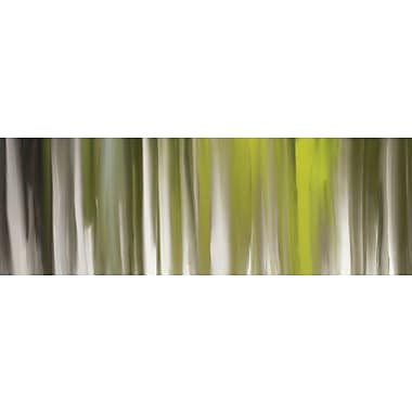 East Urban Home 'Luminous Touch' Painting Print on Wrapped Canvas; 16'' H x 48'' W x 1.5'' D