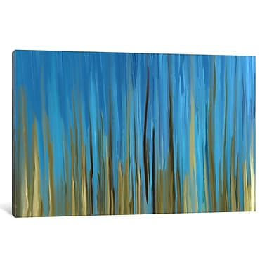 East Urban Home 'Quiet Oasis' Painting Print on Wrapped Canvas; 18'' H x 26'' W x 1.5'' D