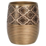 Sweet Home Collection Medallion Waste Basket
