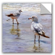 Click here to buy Highland Dunes Raisa Waders Wall Decal; 14 inch H x 14 inch W x 0.1 inch D.