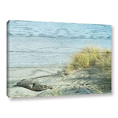 Highland Dunes 'Fall Leaf' Photographic Print on Wrapped Canvas; 12'' H x 18'' W x 2'' D
