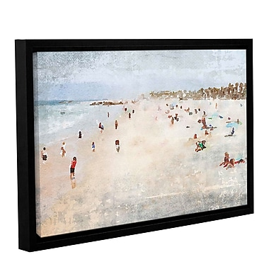 Highland Dunes 'On the Beach 1' Framed Print on Canvas; 16'' H x 24'' W x 2'' D