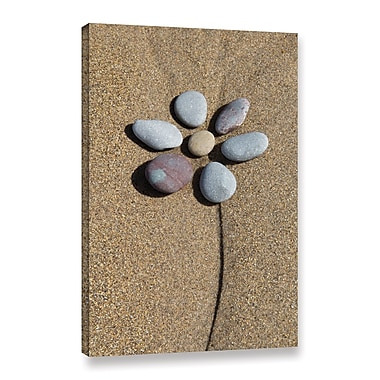 Highland Dunes 'Rock Floral' Photographic Print on Wrapped Canvas; 48'' H x 32'' W x 2'' D