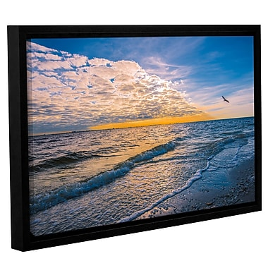 Highland Dunes 'Leading Edge' Framed Photographic Print on Wrapped Canvas; 8'' H x 12'' W x 2'' D