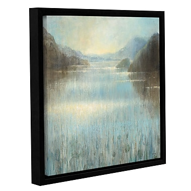 Highland Dunes 'Through the Mist Square' Framed Painting Print; 36'' H x 36'' W x 2'' D