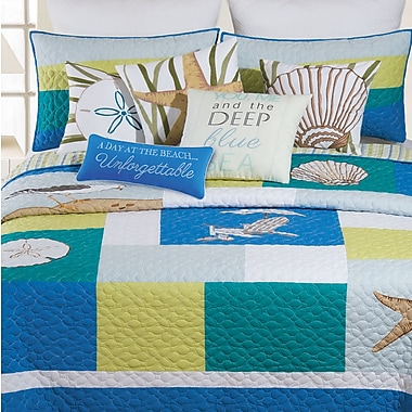 Highland Dunes Akini Cotton Quilt; Full/Queen