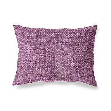 Ivy Bronx Conyingham Outdoor Lumbar Pillow; Purple