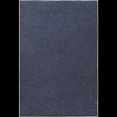 Orren Ellis Ayala Hand-Loomed Navy Area Rug; 4' x 6'