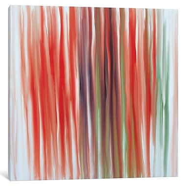 East Urban Home 'Unfolding Projection' Painting Print on Wrapped Canvas; 12'' H x 12'' W x 1.5'' D