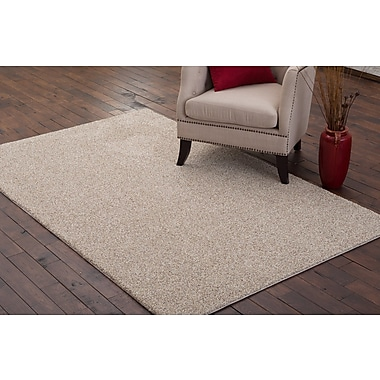 Charlton Home Stony Creek Light Beige Area Rug; 5' x 7'