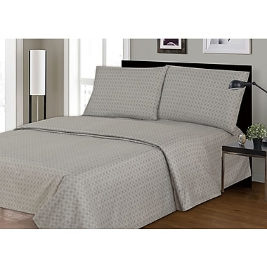 CoutureBedding Couture 2200 Thread Count 100pct Polyester 4 Piece Sheet Set; Full/Double