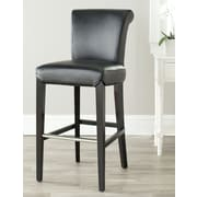 Darby Home Co Vandergrift 30'' Bar Stool; Black