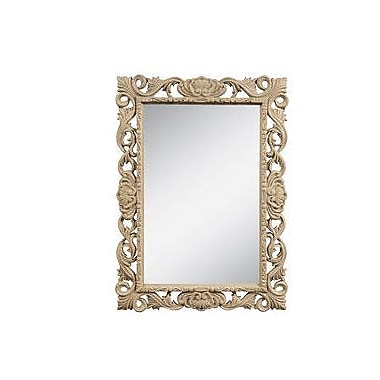 Darby Home Co Augill Mirror; Weathered Gray