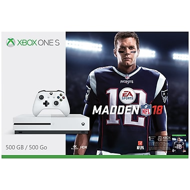 Ensemble Xbox One 500GB S Madden NFL 18