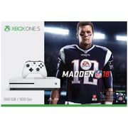Xbox One 500GB S Madden NFL 18 Bundle