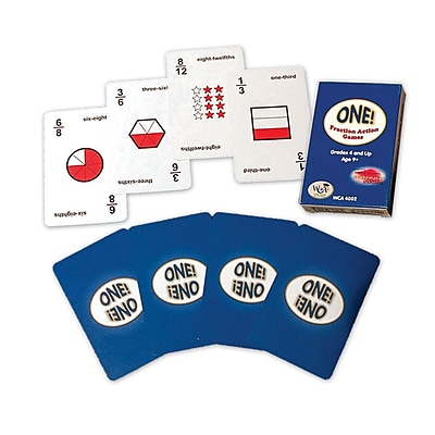 WCA One Fraction Card Game 935447
