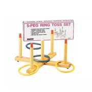 Martin Sports Ring Toss Game, 5-Peg Wood Base