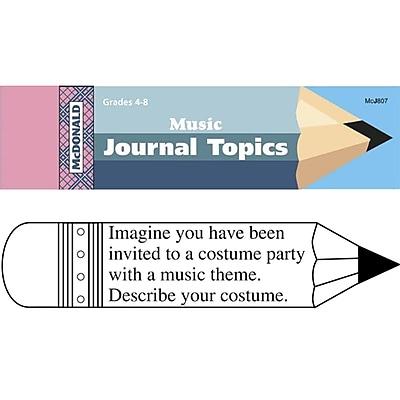 McDonald Journal Booklets, Music
