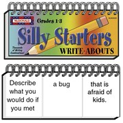 Write-Abouts, Silly Starters, Grades 1-3