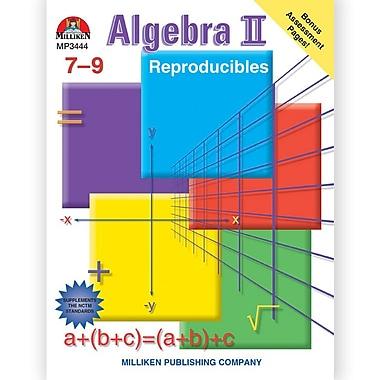 Milliken & Lorenz Educational Press Algebra II Reproducible Book, Grades 7th - 9th