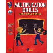 Math Drills, On The Mark Press Multiplication