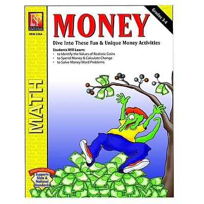 Remedia® Money Activity Book, Grades 3rd - 4th