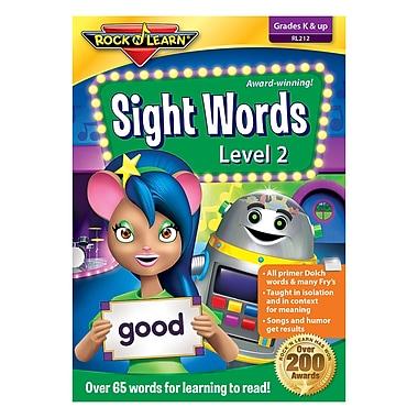 Rock 'N Learn® Sight Words Level 2 DVD