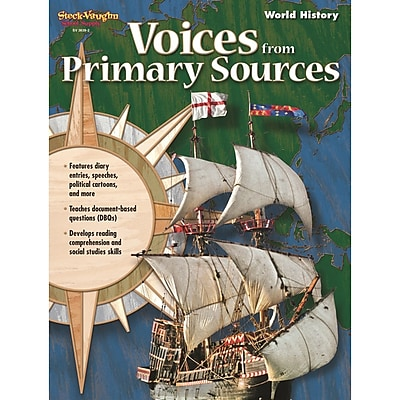 Houghton Mifflin Harcourt® Voices From Primary Sources Reproducible World History