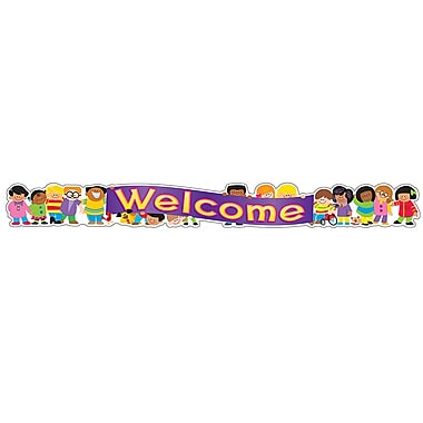 Trend® Quotable Expressions® Banner, Welcome