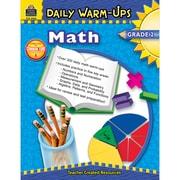 Teacher Created Resources Daily Warm-Ups: Math Resource Book, Grades 2