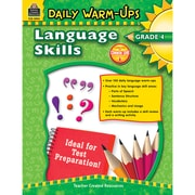 Daily Warm-Ups: Language Skills, Grade 4