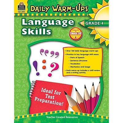 Daily Warm-Ups: Language Skills, Grade 4