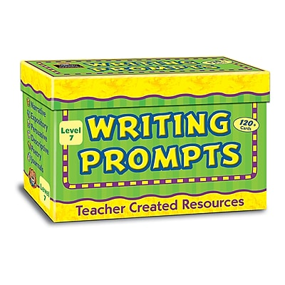 Teacher Created Resources Creative Writing, Prompt Cards, Grade 7