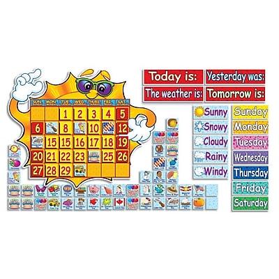 Super Sunshine Calendar Bulletin Board Set