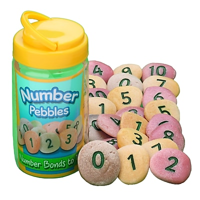 Yellow Door Number bonds to 10 Set Number Pebbles Set, Grades PreK - 1
